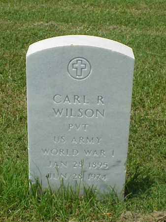 WILSON (VETERAN WWI), CARL R - Pulaski County, Arkansas | CARL R WILSON (VETERAN WWI) - Arkansas Gravestone Photos