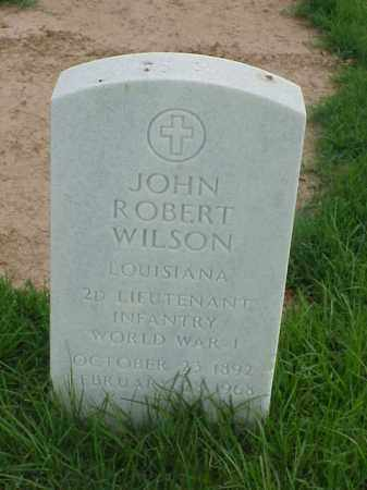WILSON (VETERAN WWI), JOHN ROBERT - Pulaski County, Arkansas | JOHN ROBERT WILSON (VETERAN WWI) - Arkansas Gravestone Photos
