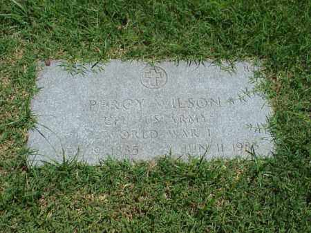 WILSON (VETERAN WWI), PERCY - Pulaski County, Arkansas | PERCY WILSON (VETERAN WWI) - Arkansas Gravestone Photos