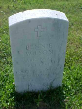 WILSON (VETERAN WWII), BENNIE - Pulaski County, Arkansas | BENNIE WILSON (VETERAN WWII) - Arkansas Gravestone Photos