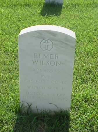 WILSON (VETERAN WWII), ELMER - Pulaski County, Arkansas | ELMER WILSON (VETERAN WWII) - Arkansas Gravestone Photos