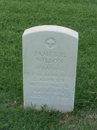 WILSON (VETERAN WWII), JAMES G - Pulaski County, Arkansas | JAMES G WILSON (VETERAN WWII) - Arkansas Gravestone Photos