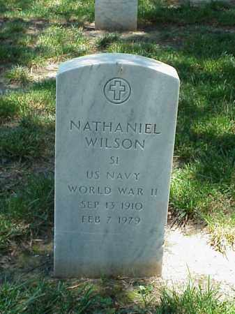 WILSON (VETERAN WWII), NATHANIEL - Pulaski County, Arkansas | NATHANIEL WILSON (VETERAN WWII) - Arkansas Gravestone Photos