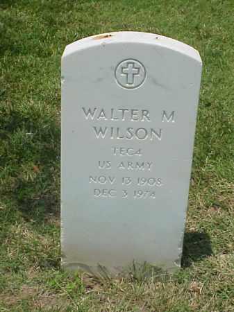 WILSON (VETERAN WWII), WALTER M - Pulaski County, Arkansas | WALTER M WILSON (VETERAN WWII) - Arkansas Gravestone Photos