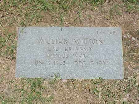 WILSON (VETERAN WWII), WILLIAM - Pulaski County, Arkansas | WILLIAM WILSON (VETERAN WWII) - Arkansas Gravestone Photos