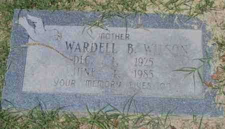 WILSON, WARDELL B. - Pulaski County, Arkansas | WARDELL B. WILSON - Arkansas Gravestone Photos
