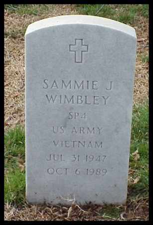 WIMBLEY (VETERAN VIET), SAMMIE J - Pulaski County, Arkansas | SAMMIE J WIMBLEY (VETERAN VIET) - Arkansas Gravestone Photos