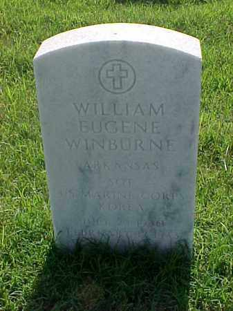 WINBURNE (VETERAN KOR), WILLIAM EUGENE - Pulaski County, Arkansas | WILLIAM EUGENE WINBURNE (VETERAN KOR) - Arkansas Gravestone Photos