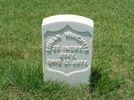 WINCHELL (VETERAN UNION), LUMAN - Pulaski County, Arkansas | LUMAN WINCHELL (VETERAN UNION) - Arkansas Gravestone Photos