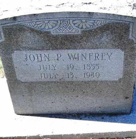 WINFREY, JOHN P - Pulaski County, Arkansas | JOHN P WINFREY - Arkansas Gravestone Photos