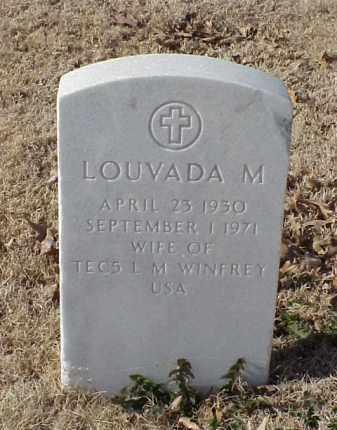 WINFREY, LOUVADA M - Pulaski County, Arkansas | LOUVADA M WINFREY - Arkansas Gravestone Photos
