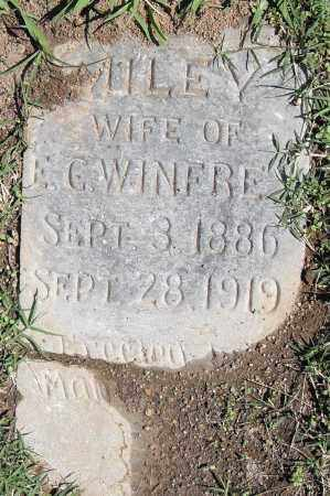 WINFREY, MILEY - Pulaski County, Arkansas | MILEY WINFREY - Arkansas Gravestone Photos
