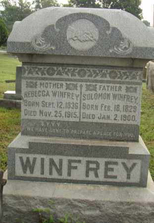 WINFREY, SOLOMON - Pulaski County, Arkansas | SOLOMON WINFREY - Arkansas Gravestone Photos