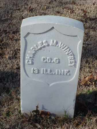 WINFREY (VETERAN UNION), CHARLES M - Pulaski County, Arkansas | CHARLES M WINFREY (VETERAN UNION) - Arkansas Gravestone Photos