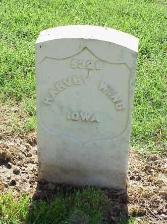WING (VETERAN UNION), HARVEY - Pulaski County, Arkansas | HARVEY WING (VETERAN UNION) - Arkansas Gravestone Photos