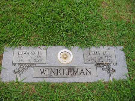 WINKLEMAN, EDWARD H. - Pulaski County, Arkansas | EDWARD H. WINKLEMAN - Arkansas Gravestone Photos