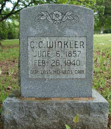 WINKLER, C.C. - Pulaski County, Arkansas | C.C. WINKLER - Arkansas Gravestone Photos
