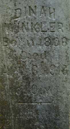 WINKLER, DINAH (CLOSE UP) - Pulaski County, Arkansas   DINAH (CLOSE UP) WINKLER - Arkansas Gravestone Photos