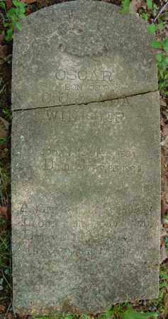 WINKLER (COMPLETE STONE), OSCAR - Pulaski County, Arkansas | OSCAR WINKLER (COMPLETE STONE) - Arkansas Gravestone Photos