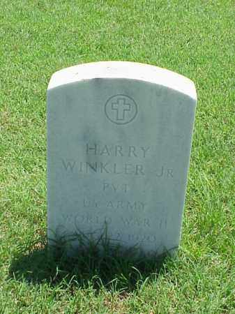 WINKLER, JR (VETERAN WWII), HARRY - Pulaski County, Arkansas | HARRY WINKLER, JR (VETERAN WWII) - Arkansas Gravestone Photos
