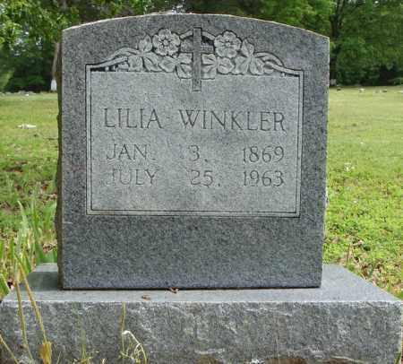 WINKLER, LILIA - Pulaski County, Arkansas | LILIA WINKLER - Arkansas Gravestone Photos
