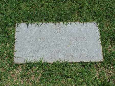 WINKLER (VETERAN 2 WARS), BOBBY S - Pulaski County, Arkansas | BOBBY S WINKLER (VETERAN 2 WARS) - Arkansas Gravestone Photos