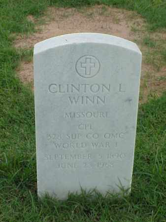 WINN (VETERAN WWI), CLINTON L - Pulaski County, Arkansas | CLINTON L WINN (VETERAN WWI) - Arkansas Gravestone Photos
