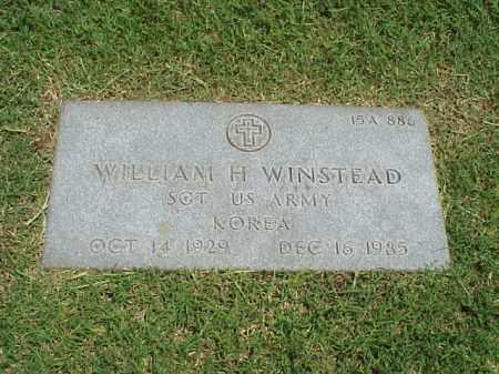 WINSTEAD (VETERAN KOR), WILLIAM H - Pulaski County, Arkansas | WILLIAM H WINSTEAD (VETERAN KOR) - Arkansas Gravestone Photos