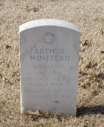 WINSTEAD (VETERAN WWII), ARTHUR - Pulaski County, Arkansas | ARTHUR WINSTEAD (VETERAN WWII) - Arkansas Gravestone Photos