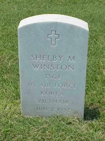 WINSTON (VETERAN 2 WARS), SHELBY M - Pulaski County, Arkansas | SHELBY M WINSTON (VETERAN 2 WARS) - Arkansas Gravestone Photos
