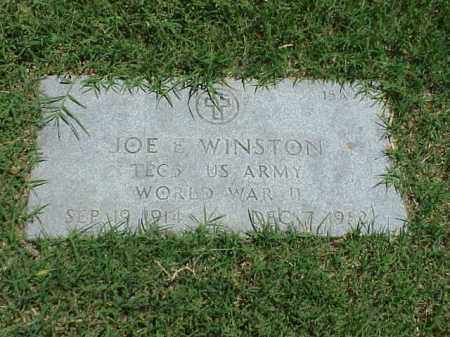 WINSTON (VETERAN WWII), JOE E - Pulaski County, Arkansas | JOE E WINSTON (VETERAN WWII) - Arkansas Gravestone Photos