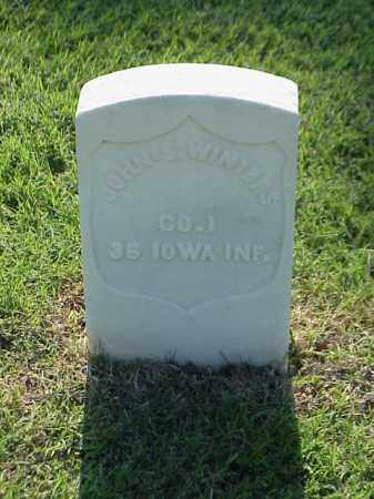 WINTERS (VETERAN UNION), JOHN S - Pulaski County, Arkansas | JOHN S WINTERS (VETERAN UNION) - Arkansas Gravestone Photos