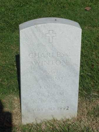 WINTON (VETERAN 2 WARS), CHARLES E - Pulaski County, Arkansas | CHARLES E WINTON (VETERAN 2 WARS) - Arkansas Gravestone Photos