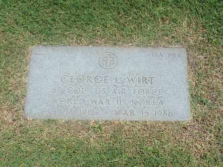WIRT (VETERAN 2 WARS), GEORGE L - Pulaski County, Arkansas | GEORGE L WIRT (VETERAN 2 WARS) - Arkansas Gravestone Photos