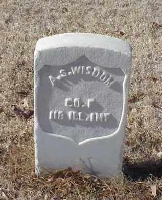 WISDOM (VETERAN UNION), A S - Pulaski County, Arkansas | A S WISDOM (VETERAN UNION) - Arkansas Gravestone Photos