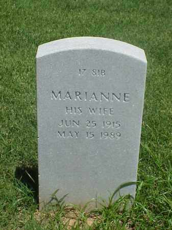 WISE, MARIANNE - Pulaski County, Arkansas | MARIANNE WISE - Arkansas Gravestone Photos