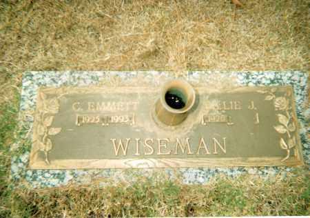 WISEMAN, CHARLES EMMETT - Pulaski County, Arkansas | CHARLES EMMETT WISEMAN - Arkansas Gravestone Photos