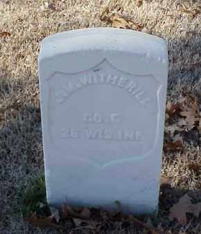 WITHERILL (VETERAN UNION), J M - Pulaski County, Arkansas | J M WITHERILL (VETERAN UNION) - Arkansas Gravestone Photos