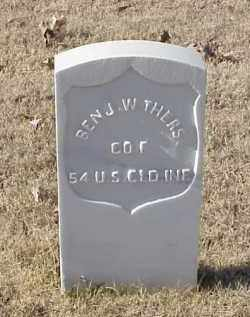 WITHERS (VETERAN UNION), BENJAMIN - Pulaski County, Arkansas | BENJAMIN WITHERS (VETERAN UNION) - Arkansas Gravestone Photos