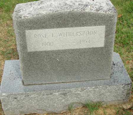 WITHERSPOON, ROSE - Pulaski County, Arkansas | ROSE WITHERSPOON - Arkansas Gravestone Photos