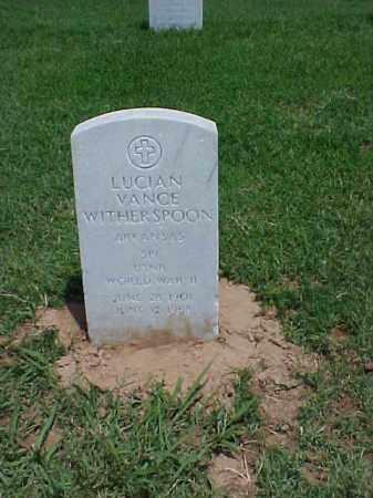 WITHERSPOON (VETERAN WWII), LUCIAN VANCE - Pulaski County, Arkansas | LUCIAN VANCE WITHERSPOON (VETERAN WWII) - Arkansas Gravestone Photos