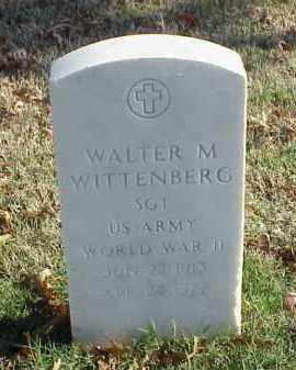 WITTENBERG (VETERAN WWII), WALTER M - Pulaski County, Arkansas | WALTER M WITTENBERG (VETERAN WWII) - Arkansas Gravestone Photos