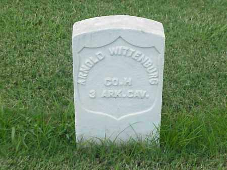 WITTENBURG (VETERAN UNION), ARNOLD - Pulaski County, Arkansas | ARNOLD WITTENBURG (VETERAN UNION) - Arkansas Gravestone Photos