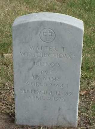 WOJCIECHOSKI (VETERAN WWI), WALTER T - Pulaski County, Arkansas | WALTER T WOJCIECHOSKI (VETERAN WWI) - Arkansas Gravestone Photos