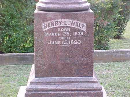 WOLF, HENRY L - Pulaski County, Arkansas | HENRY L WOLF - Arkansas Gravestone Photos