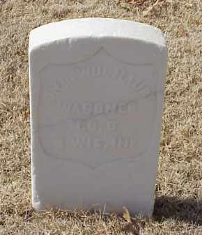 WOLHAUPT (VETERAN UNION), JOHN - Pulaski County, Arkansas | JOHN WOLHAUPT (VETERAN UNION) - Arkansas Gravestone Photos
