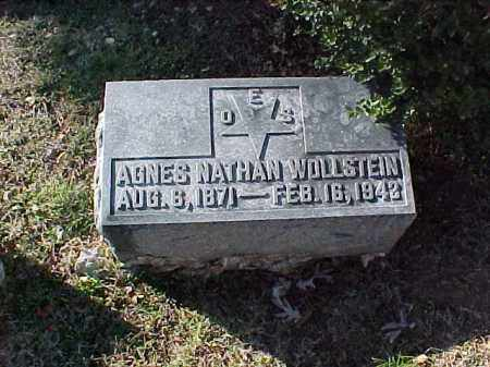 WOLLSTEIN, AGNES - Pulaski County, Arkansas | AGNES WOLLSTEIN - Arkansas Gravestone Photos