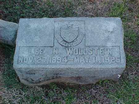 WOLLSTEIN, LEE N - Pulaski County, Arkansas | LEE N WOLLSTEIN - Arkansas Gravestone Photos