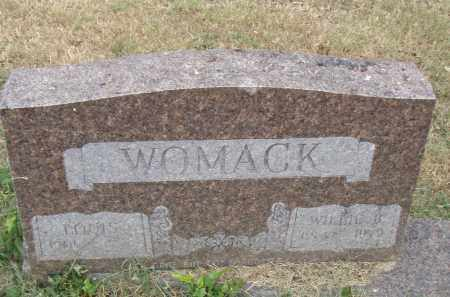 WOMACK, WILLIE B. - Pulaski County, Arkansas | WILLIE B. WOMACK - Arkansas Gravestone Photos