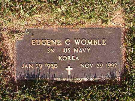 WOMBLE (VETERAN KOR), EUGENE C - Pulaski County, Arkansas | EUGENE C WOMBLE (VETERAN KOR) - Arkansas Gravestone Photos